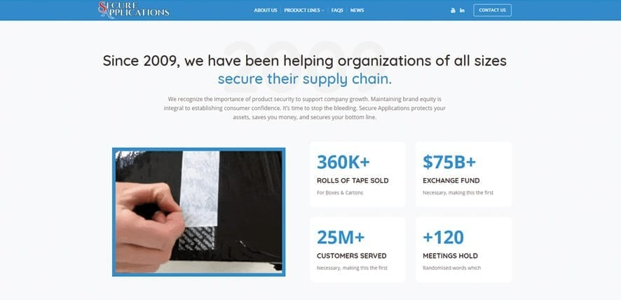 Secure-Applications-Launches-New-Website